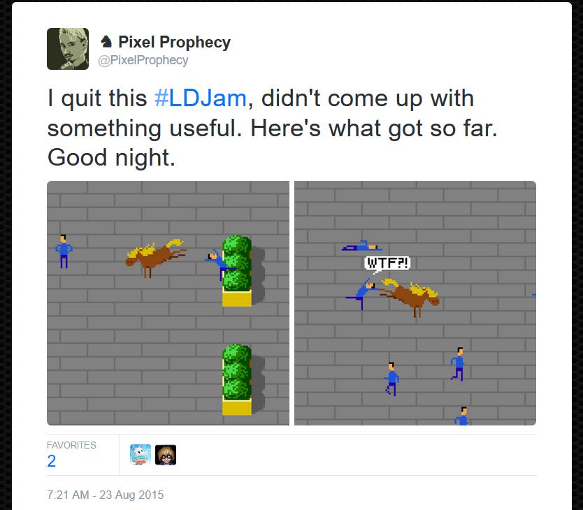 LD33 Tweet